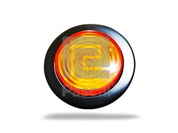 Luz redonda 2 ámbar
