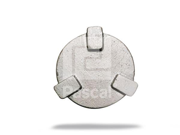 Tapón chico de 2.25 pulgadas para tanque de diesel para camión Famsa
