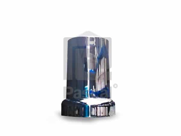 Tapón de 33mm por 3.5 pulgadas de alto en pico de plástico traseras